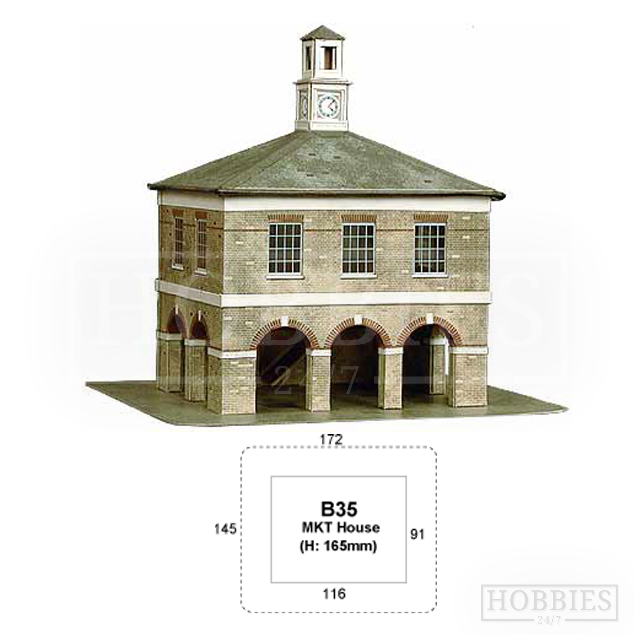 B35 Market House Superquick Card Kit