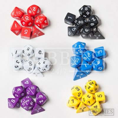 Poly Dice Set