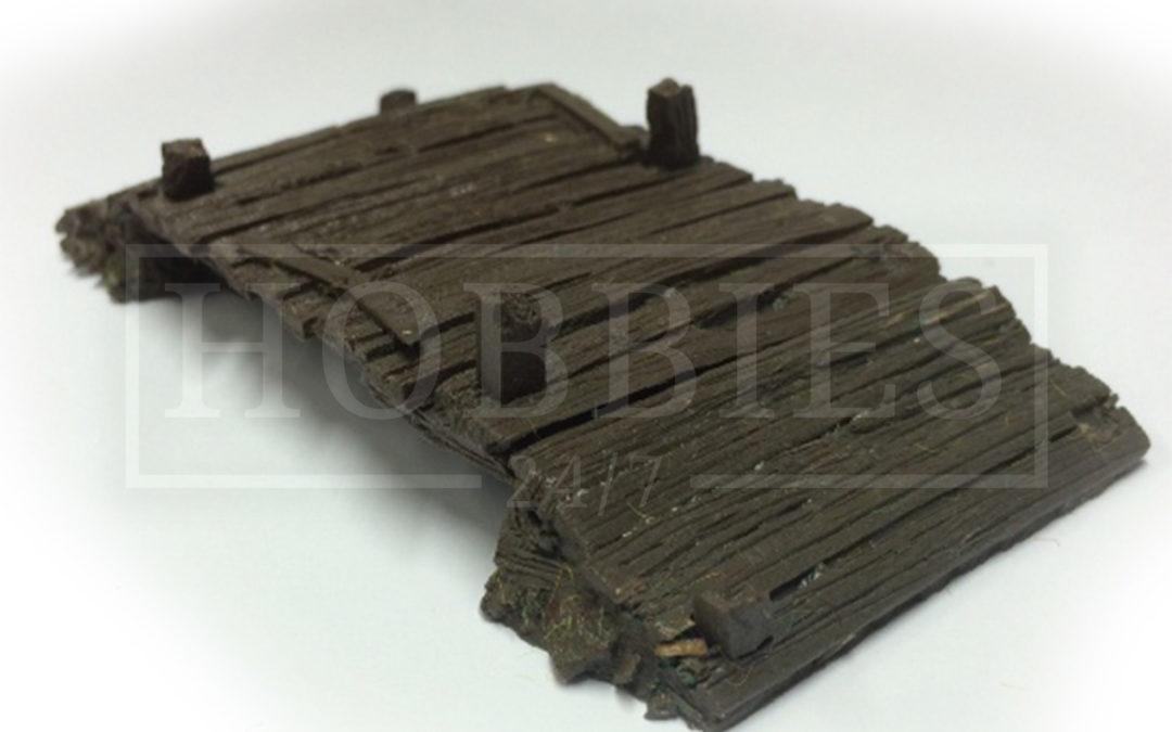 Javis Old Timber Bridge 25-28mm Scale