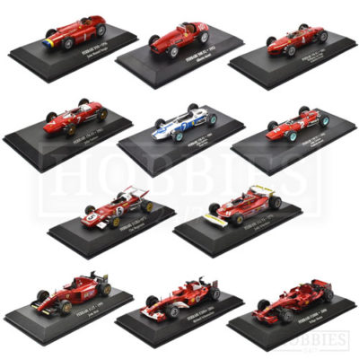 1/43 Scale F1 cars