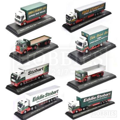 1/76 Scale Eddie Stobart Trucks