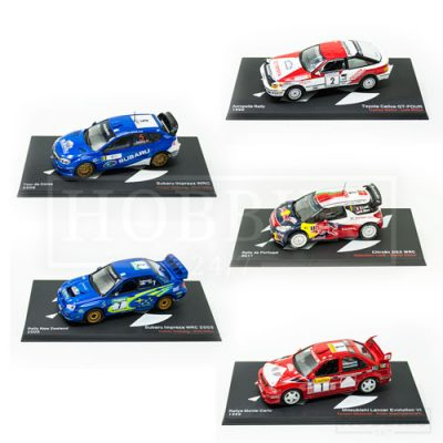 1/43 Scale Rally Cars