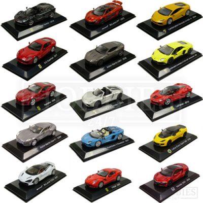 1/43 Scale Supercar Collection